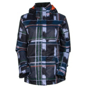 Roxy Jetty JK Womens Insulated Snowboard Jacket, Swing Dots Plaid, medium