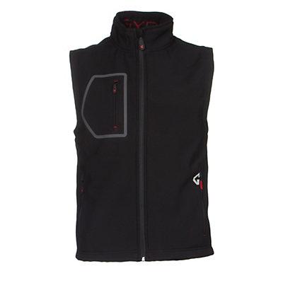 Gyde by Gerbing Torrid Shell Mens Vest, Black, viewer