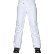 Roxy Backyard Womens Snowboard Pants, Bright White, medium