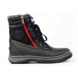 Pajar Trooper Mens Boots, Black Leaf, 256