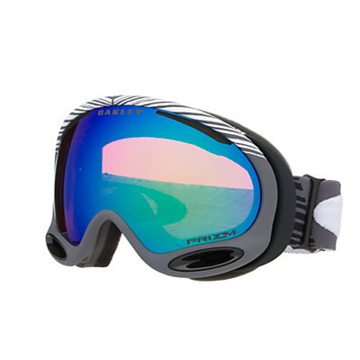 Oakley A Frame 2.0 Shaun White Goggles, Echelon Gunmetal Grey-Prizm Jade Iridium, viewer