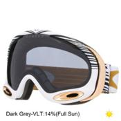 Oakley A Frame 2.0 Shaun White Goggles 2016, Echelon White Gold-Dark Grey, medium