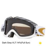 Oakley O2 XS Shaun White Kids Goggles 2016, Echelon White Gold-Dark Grey, medium