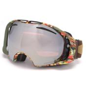 Oakley Airbrake Jake Blauvelt Prizm Goggles 2016, Equinox Army Green-Prizm Black + Bonus Lens, medium