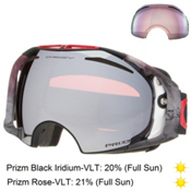 Oakley Airbrake Seth Morrison Prizm Goggles 2016, Valley Of Death-Prizm Black Iridium + Bonus Lens, medium