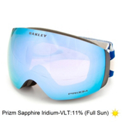 Oakley Flight Deck XM Prizm Goggles 2016, Slasher Blue Copper-Prizm Sapphire Iridium, medium