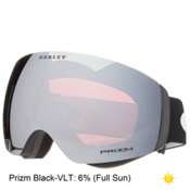 Oakley Flight Deck XM Prizm Goggles, Matte Black-Prizm Black, medium