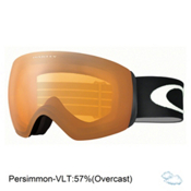 Oakley Flight Deck XM Goggles, Matte Black-Persimmon, medium
