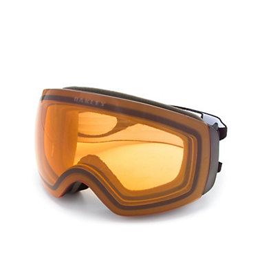 Oakley Flight Deck XM Goggles 2017, Matte Black-Persimmon, viewer
