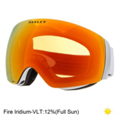 Oakley Flight Deck XM Goggles 2017, Matte White-Fire Iridium, medium