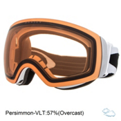 Oakley Flight Deck XM Goggles 2017, Matte White-Persimmon, medium