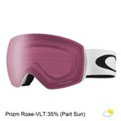 Oakley Flight Deck XM Prizm Goggles 2017, Matte White-Prizm Rose, medium
