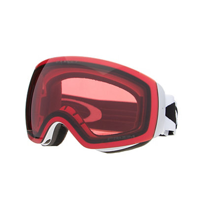 Oakley Flight Deck XM Prizm Goggles 2018, Matte White-Prizm Rose, viewer