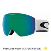 Oakley Flight Deck XM Prizm Goggles 2018, Matte White-Prizm Jade Iridium, medium