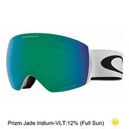 Oakley Flight Deck XM Prizm Goggles 2018, Matte White-Prizm Jade Iridium, 256