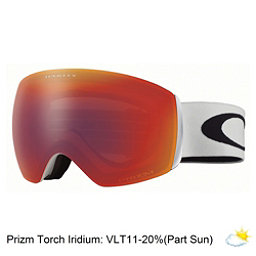 Oakley Flight Deck XM Prizm Goggles 2018, Matte White-Prizm Torch Iridiu, 256