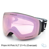 Oakley Flight Deck XM Prizm Goggles 2017, Matte Black-Prizm Hi Pink, medium
