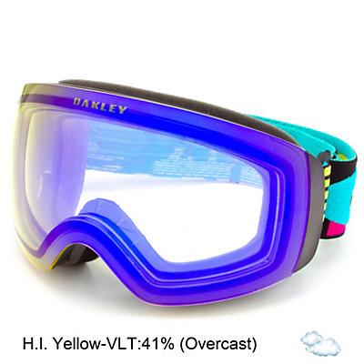 Oakley Flight Deck XM Goggles, Purple Shade-Violet Iridium, viewer