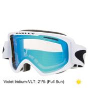 Oakley O2 XM Goggles 2017, Matte White-Violet Iridium, medium