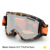 Oakley O2 XM Goggles 2016, Cell Blocked Copper Orange-Black Iridium, medium