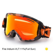 Oakley O2 XM Goggles 2016, Cell Blocked Copper Orange-Fire Iridium, medium
