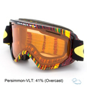 Oakley O2 XM Goggles 2016, Stumped Rasta-Persimmon, medium