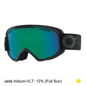 Oakley O2 XM Goggles 2017, Factory Pilot Blackout-Jade Ir, medium