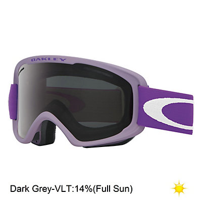 Oakley O2 XM Goggles, Matte Black-Fire Iridium, viewer