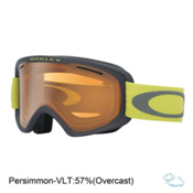 Oakley O2 XM Goggles, Iron Citrus-Persimmon, medium