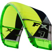 Cabrinha FX Kiteboarding Kite, Green, medium