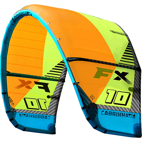 Cabrinha FX Kiteboarding Kite, Orange-Green, 600