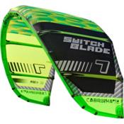 Cabrinha Switchblade Kiteboarding Kite, Green-Black, medium