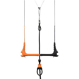 Cabrinha 1X with TrimLite Depower Control Bar, Orange-Black, 256