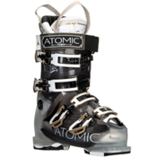 Atomic Hawx 100 W Womens Ski Boots, Crystal-Transparent Black, medium