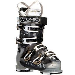 Atomic Hawx 100 W Womens Ski Boots, Crystal-Transparent Black, 256