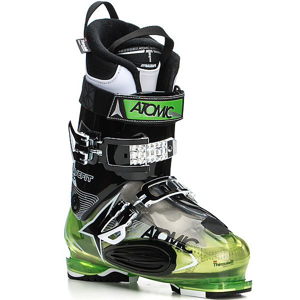 Atomic Live Fit 100 Ski Boots 2017, Transparent Green-Black, 600