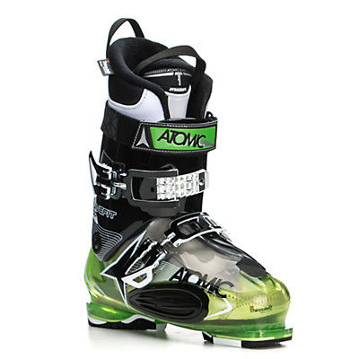 Atomic Live Fit 100 Ski Boots 2017, Transparent Green-Black, viewer