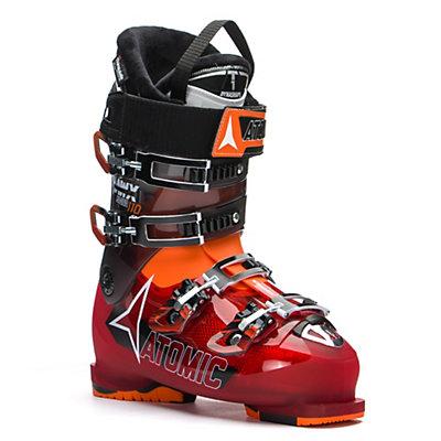 Atomic Hawx Magna 110 Ski Boots, Transparent Red-Transparent Bl, viewer