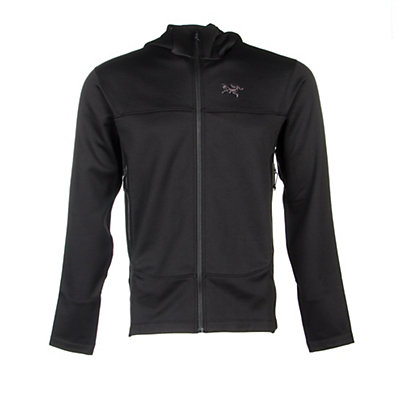 Arc'teryx Arenite Hoody Mens Jacket, Black, viewer
