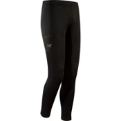 Arc'teryx RHO AR Bottom Mens Long Underwear Pants, Black, medium