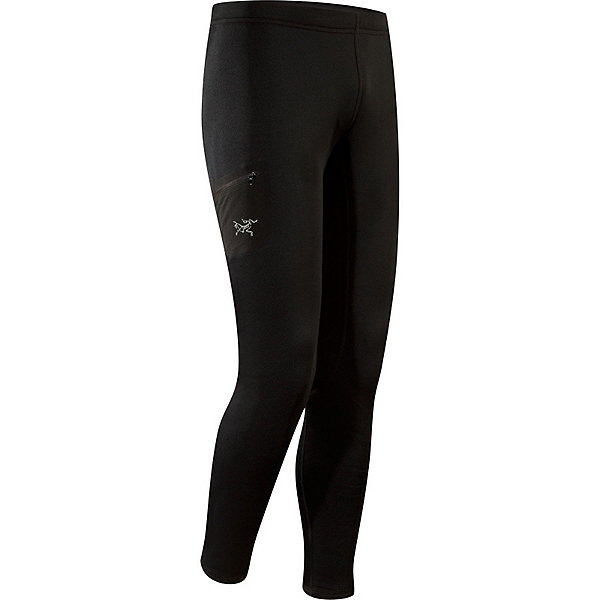 Arc'teryx RHO AR Bottom Mens Long Underwear Pants, Black, 600