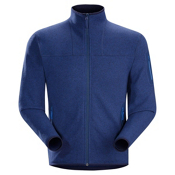 Arc'teryx Covert Cardigan Mens Jacket, Corvo Blue, medium