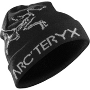 Arc'teryx Rolling Word Hat, Black-Anvil Grey, medium