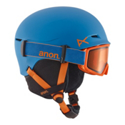Anon Define Kids Helmet 2017, Blue, medium