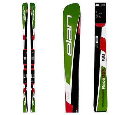 Elan GSX FIS Plate Race Skis with Head FreeFlex 14 Bindings, , viewer