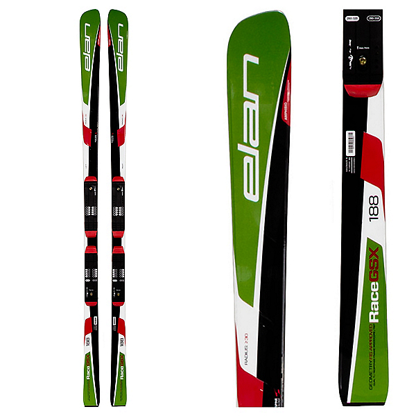 Elan GSX FIS Plate Race Skis with Head FreeFlex 14 Bindings, , 600