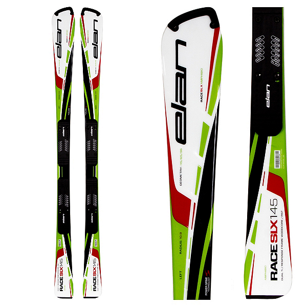 Elan SLX Team Plate Race Skis with Head FreeFlex 11 Bindings, , 600