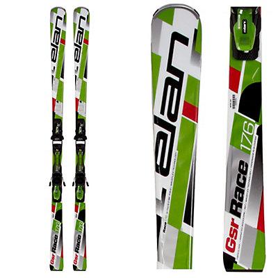Elan GSR WaveFlex Green Race Skis with EL 10.0 QT Bindings, , viewer