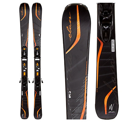 Elan Interra F Womens Skis with ELW 11.0 Bindings, , viewer