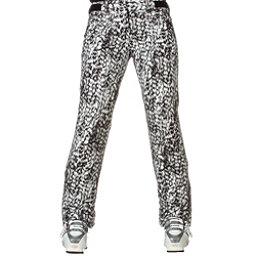Descente Selene Womens Ski Pants, Black Leopard Print, 256